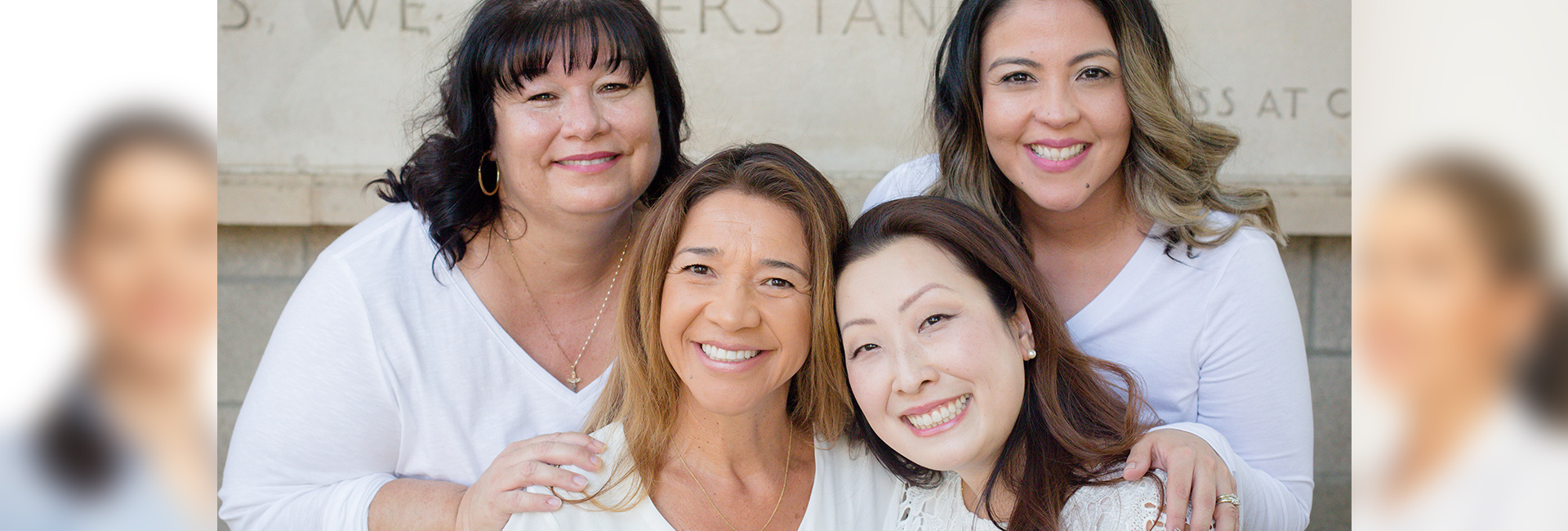 Jacquelyn, Veronica D, Veronica N and Dr. Jennifer nation